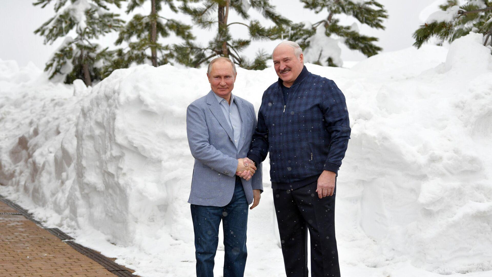 Путин и Лукашенко вели переговоры более шести часов
