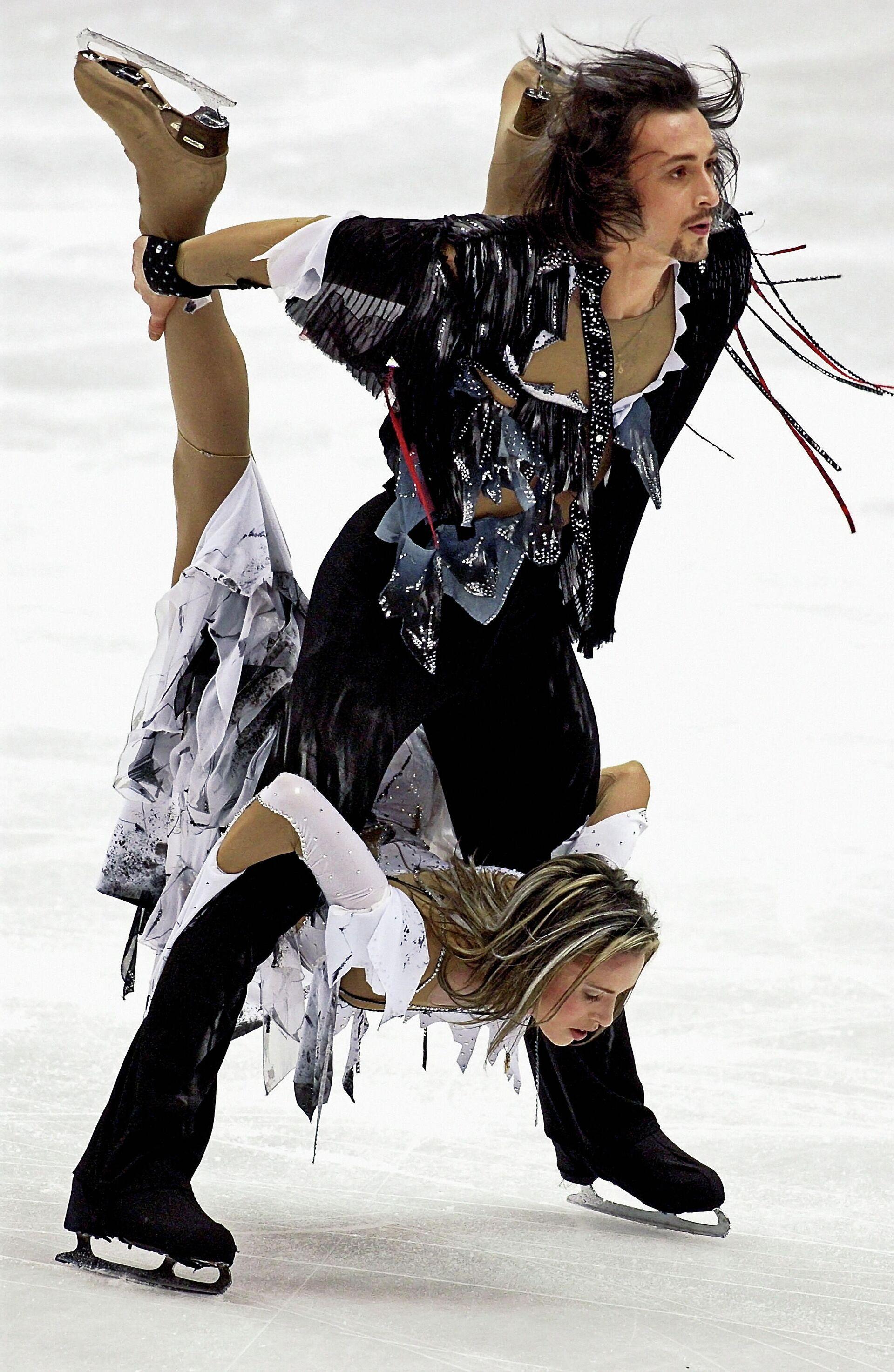 Ирина Лобачева и Илья Авербух на Олимпийских играх 2002 года - РИА Новости, 1920, 22.02.2021
