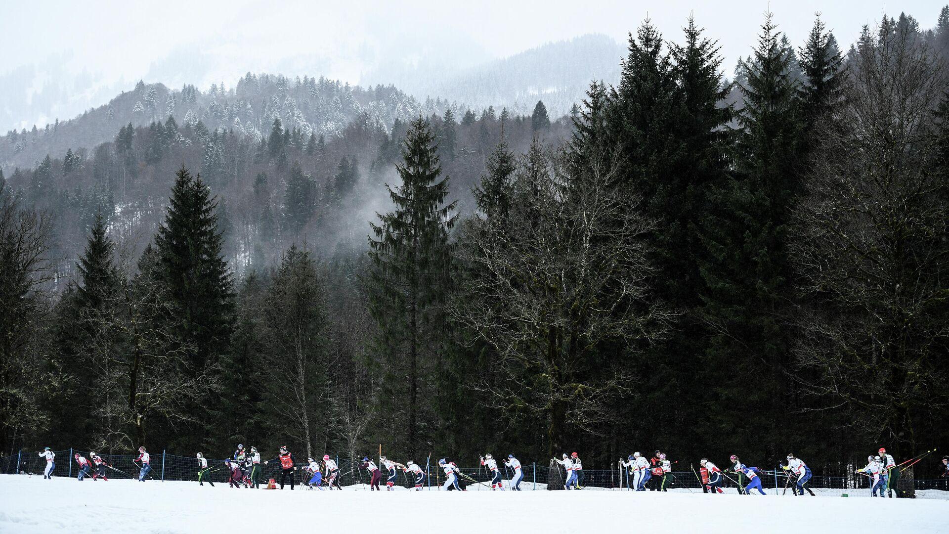 Лыжные гонки. Тур де Ски. Женщины. Масс-старт - РИА Новости, 1920, 23.02.2021