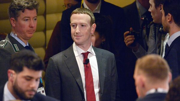 Создатель крупнейшей мировой социальной сети Facebook Марк Цукерберг на Мюнхенской конференции по безопасности