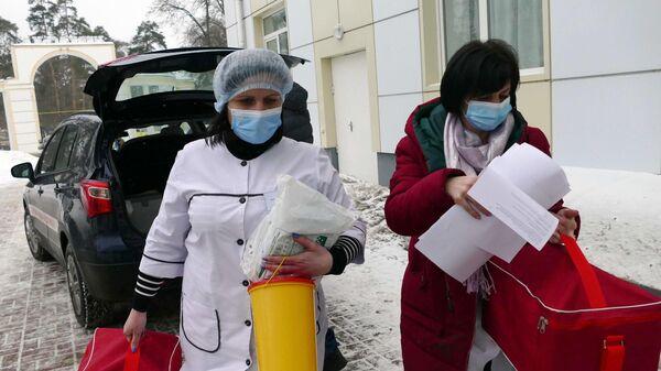 Старт вакцинации от коронавируса на Украине