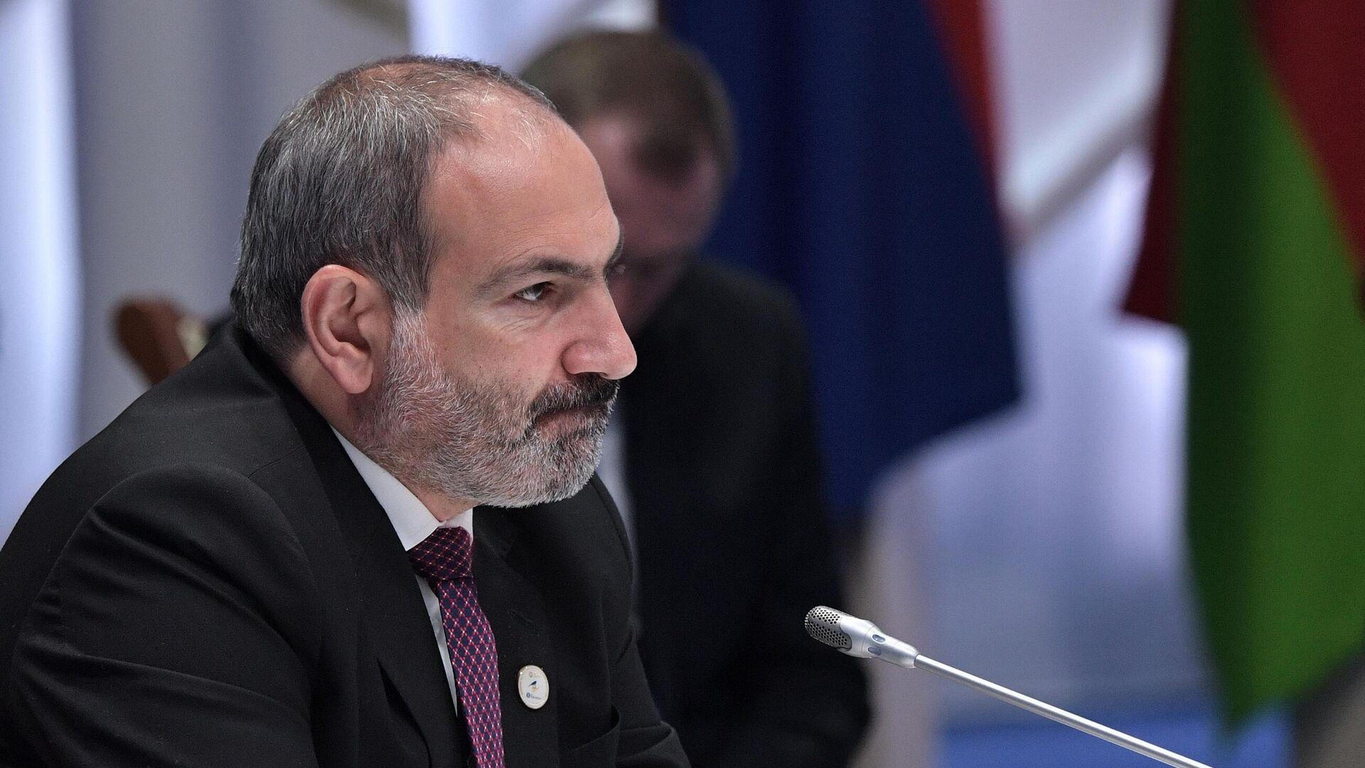 Премьер-министр Армении Никол Пашинян - РИА Новости, 1920, 25.02.2021
