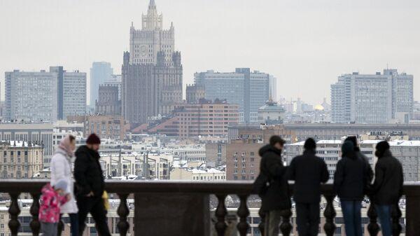 Москвичам пообещали мокрый снег с дождём на следующей неделе
