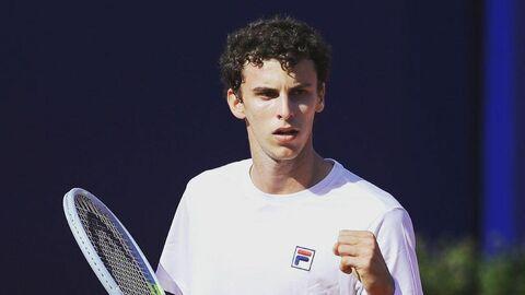 Аргентинский теннисист Хуан Мануэль Черундоло.