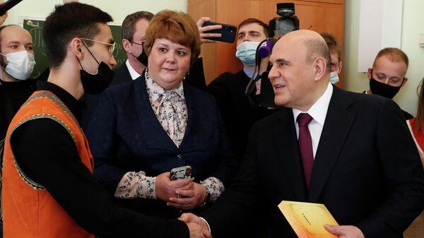 Рабочая поездка премьер-министра РФ М. Мишустина в Алтайский край. День второй