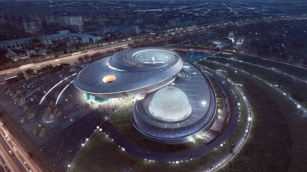 Проект Шанхайского планетария