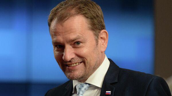 Премьер-министр Словакии Игорь Матович