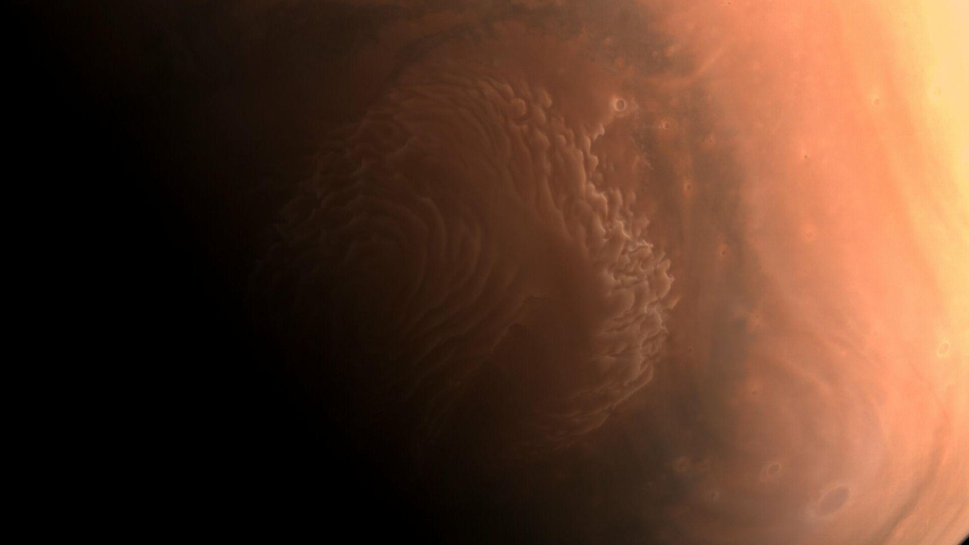 Снимки Марса, сделанные зондом Тяньвэнь-1 - РИА Новости, 1920, 04.03.2021