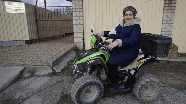 Фельдшер Татьяна Проскура в селе Большие Хутора Краснодарского края