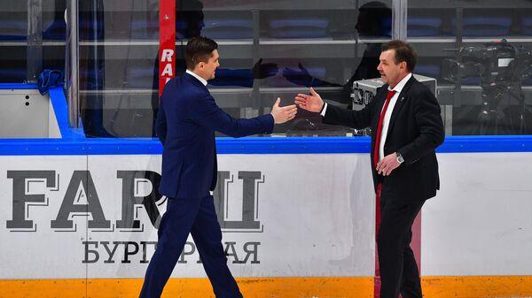 Игорь Никитин (слева) и Олег Знарок