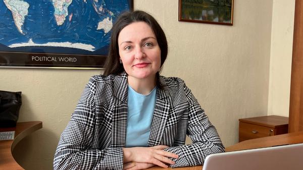 Офицер по этике Всероссийской федерации легкой атлетики (ВФЛА) Александра Тихомирова