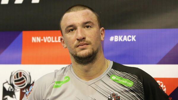 Игрок волейбольного клуба АСК Андрей Титич