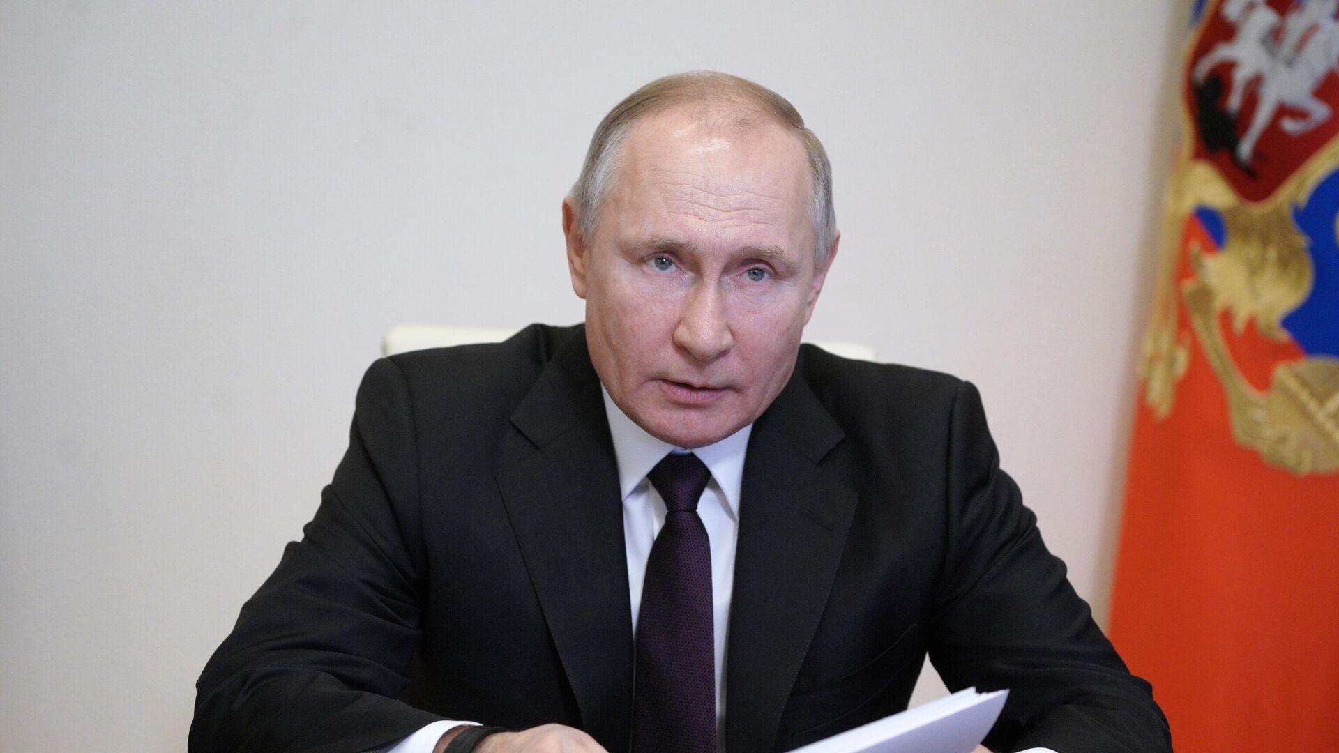 Президент России Владимир Путин - РИА Новости, 1920, 17.03.2021