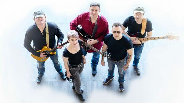 Участники белорусской музыкальной группы Галасы 3Места