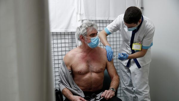 Вакцинация вакциной AstraZeneca во Франции