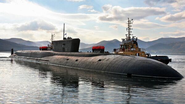 Российская атомная подводная лодка стратегического назначения проекта 955 Владимир Мономах