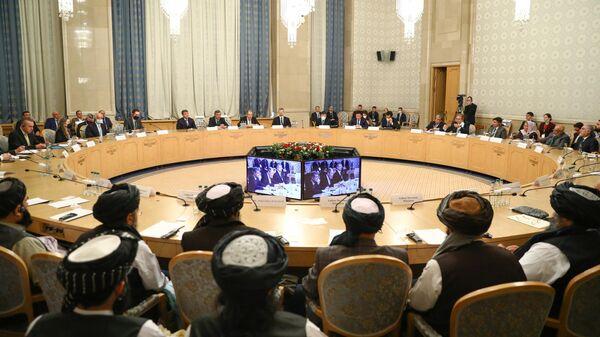 Расширенное заседание в Москве по вопросу мирного урегулирования в Афганистане