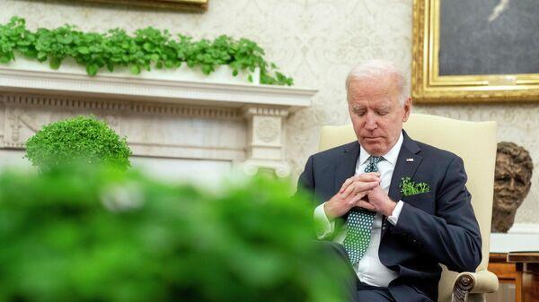 Президент США Джо Байден в Белом доме
