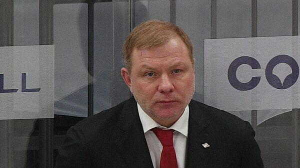 Генеральный менеджер хоккейного клуба Спартак Алексей Жамнов