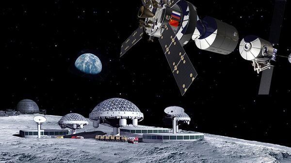 Концепция лунной базы