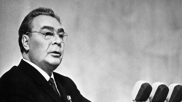 Генеральный секретарь ЦК КПСС Леонид Ильич Брежнев