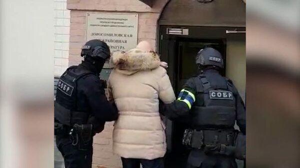 Задержание бывшего боевика из банды Басаева. Кадры ФСБ