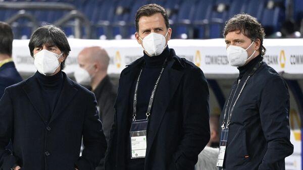 Тренерский штаб сборной Германии по футболу.