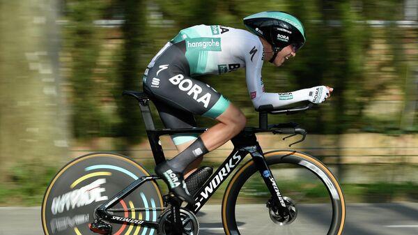 Велогонщик Леннард Кемна (Германия)