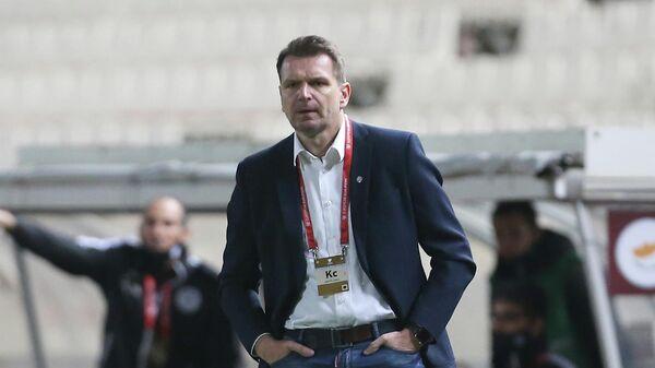 Главный тренер сборной Словакии по футболу Штефан Таркович