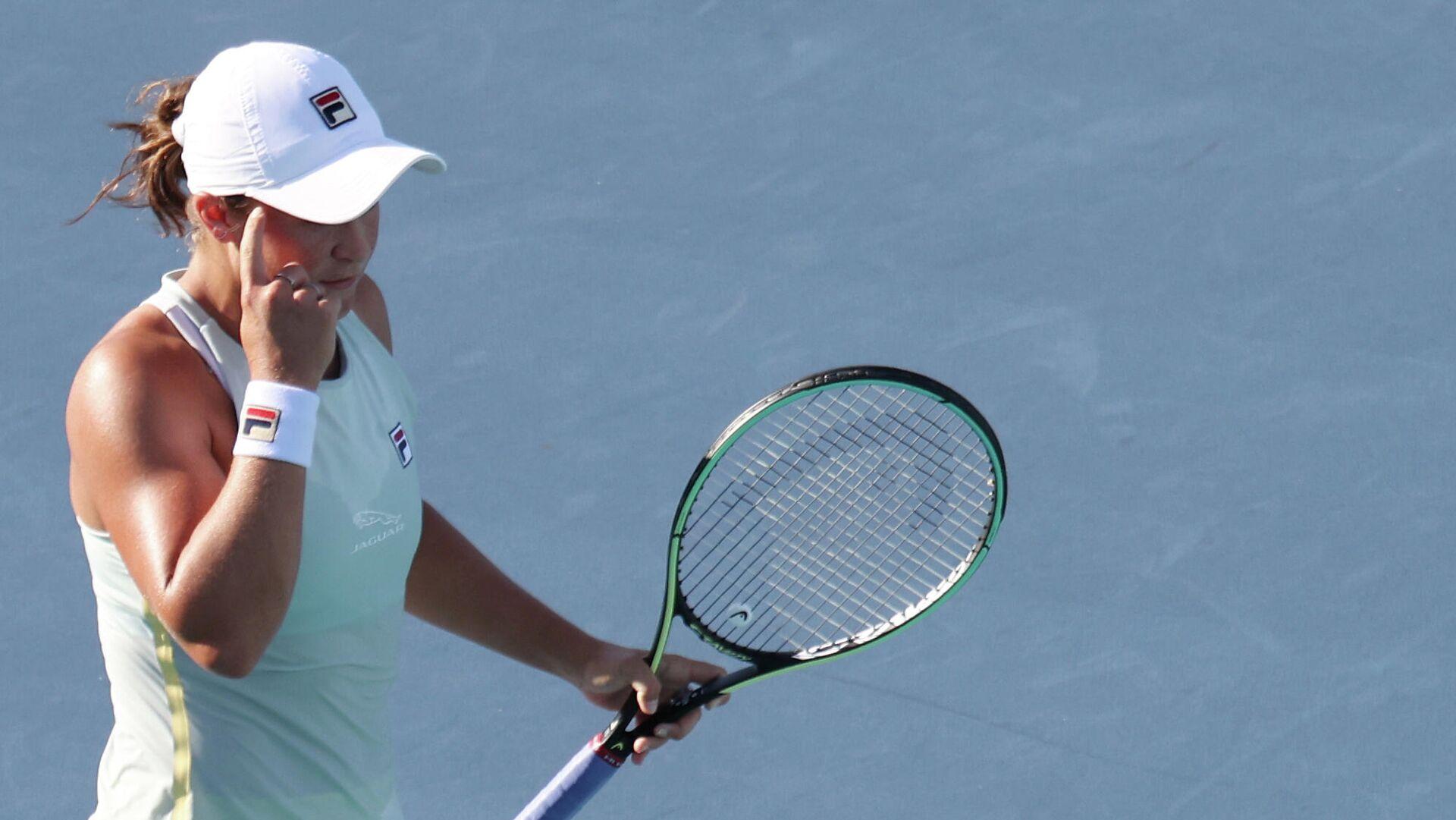 Австралийская теннисистка Эшли Барти - РИА Новости, 1920, 29.03.2021