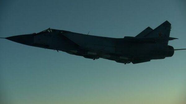 Полет ракетоносцев Ту-160 над Баренцевым и Норвежским морями