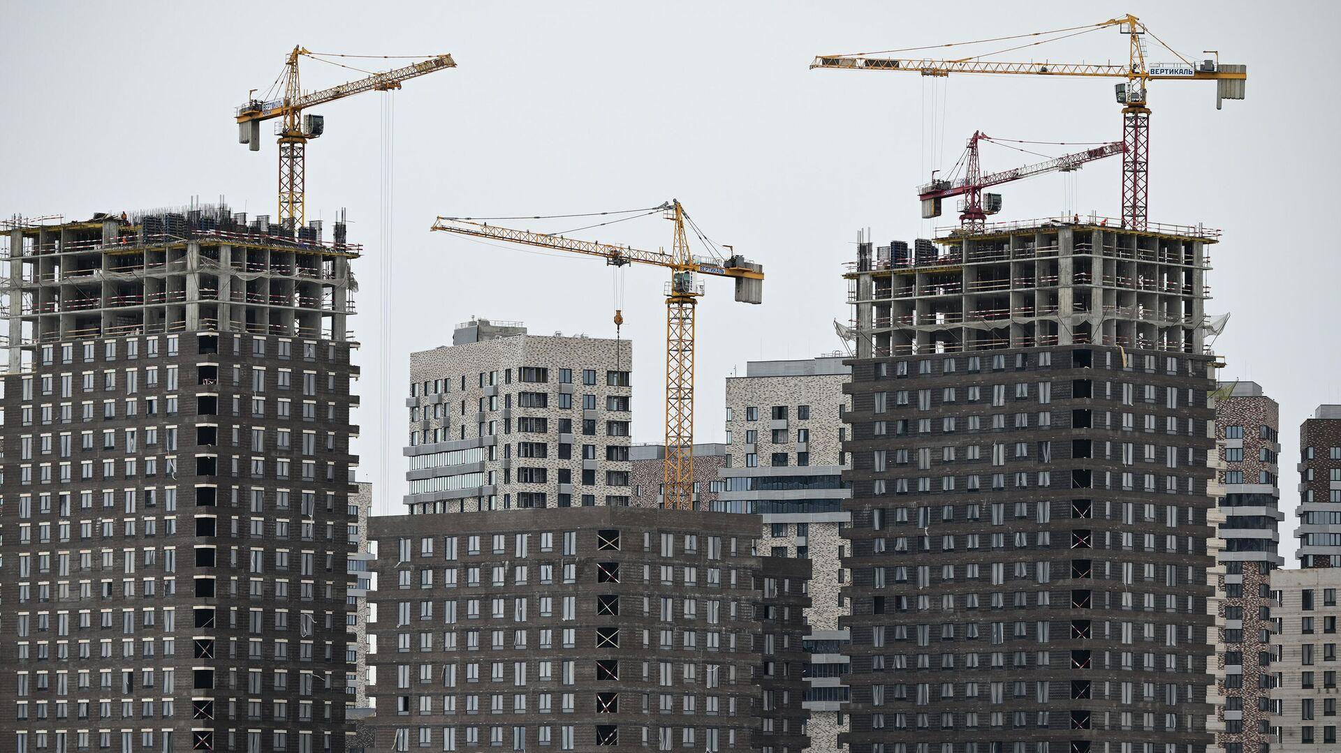 Строительство жилья - РИА Новости, 1920, 25.05.2021