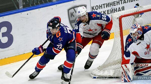 Игровой момент матча СКА – ЦСКА