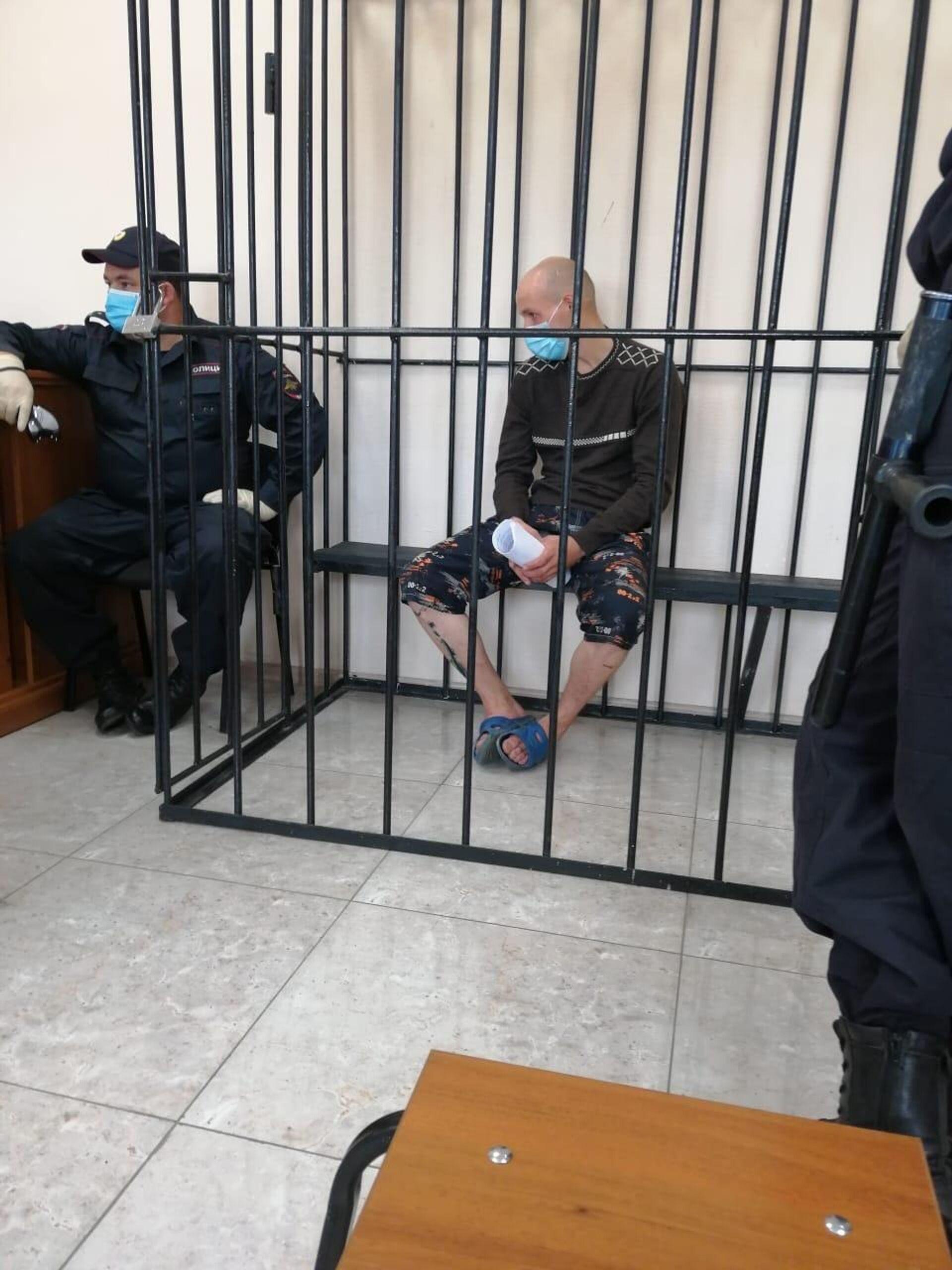 Алипченков в зале суда - РИА Новости, 1920, 30.03.2021