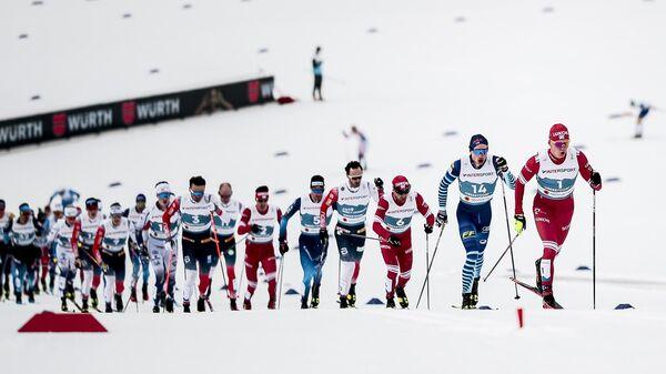 Лыжники на чемпионате мира
