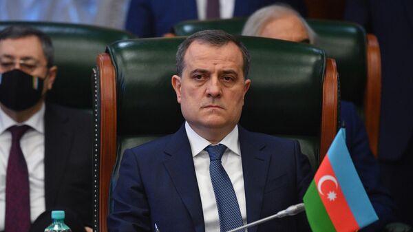 Министр иностранных дел Азербайджана Джейхун Байрамов принимает участие в заседании Совета министров иностранных дел стран СНГ
