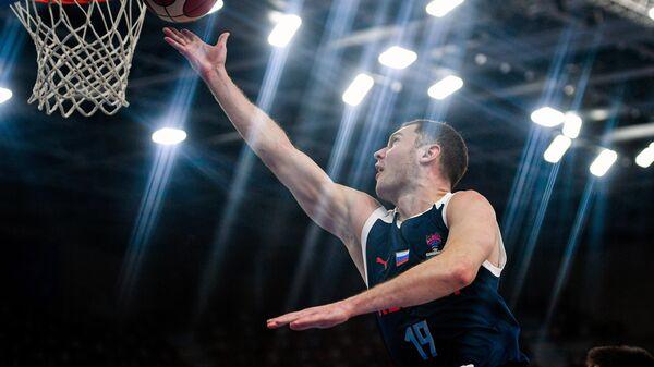 Баскетбол. Мужчины. Квалификация Евробаскета-2022. Матч Македония - Россия