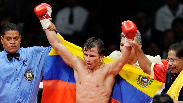 Венесуэльский боксер Эдвин Валеро