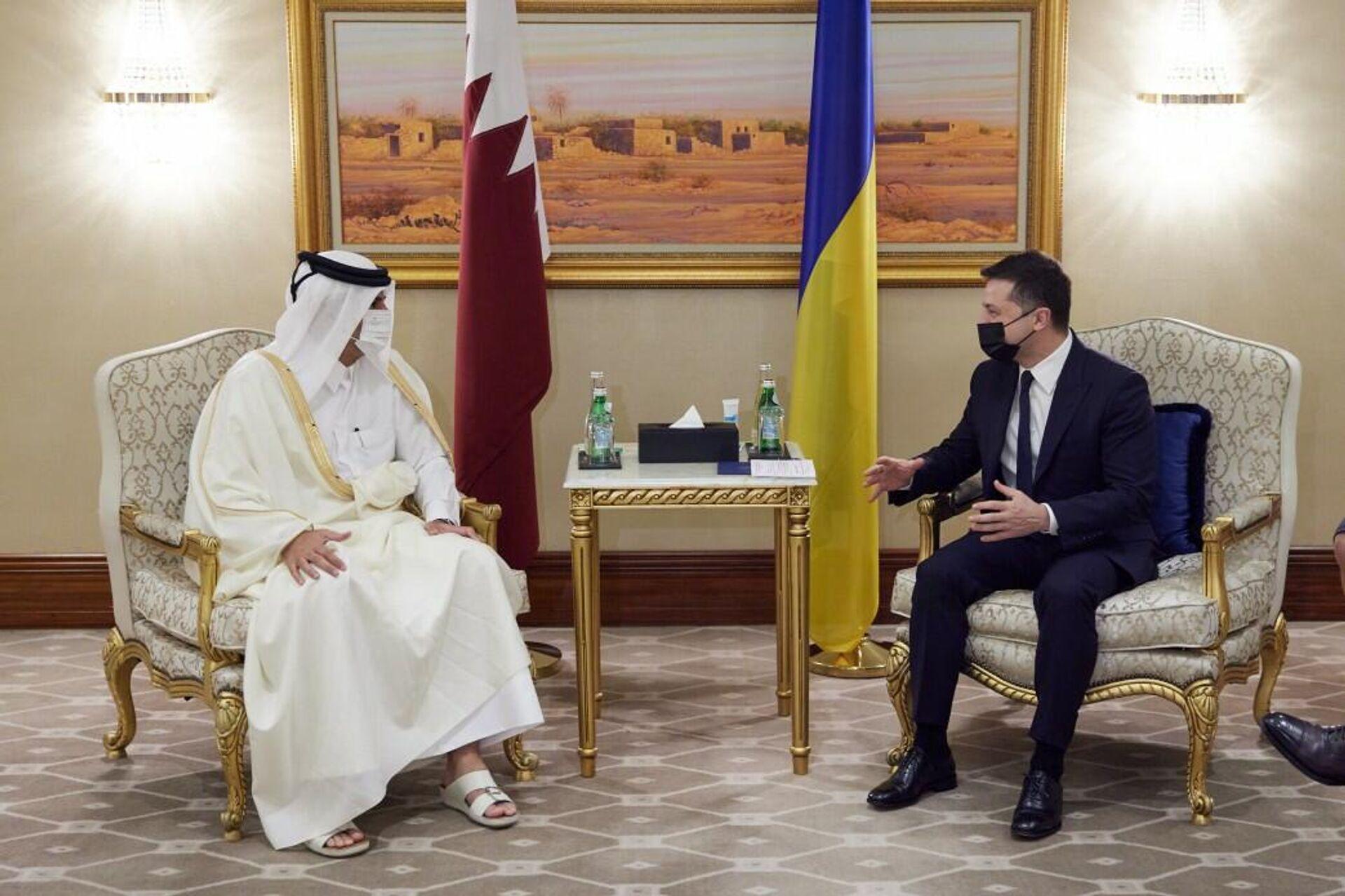 Официальный визит президента Украины в Катар  - ПРОФИ Новости, 1920, 07.04.2021