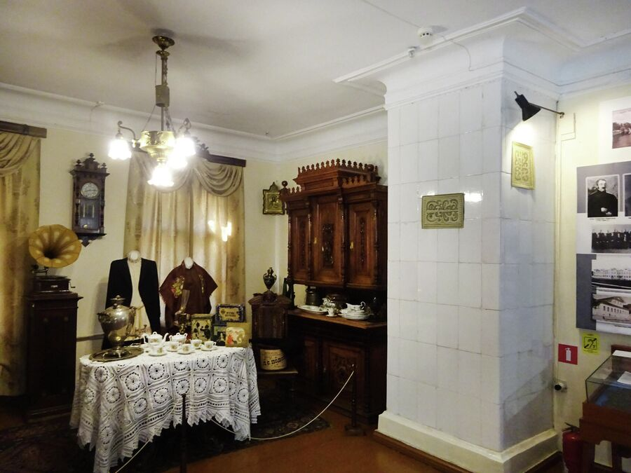 Музей истории города, интерьер