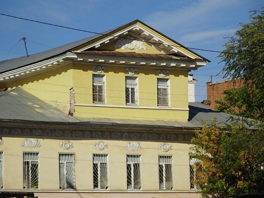Ампир. Дом купца Франгулова (1840 г.)