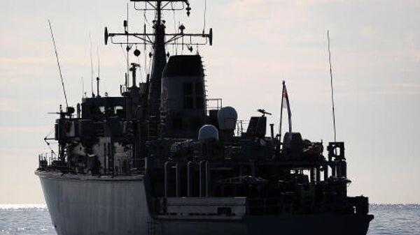 Тральщик британских ВМС Chiddingfold