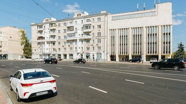 Архитектурный ансамбль Замоскворецкий рабочий в Москве, построенный в 1930–1936 годах