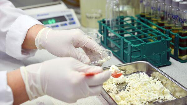 Проведение лабораторных анализов качества и безопасности творога в ФБУЗ Центр гигиены и эпидемиологии в городе Москве