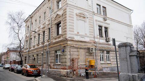 Ремонтные работы ведутся в жилом доме 1882-84 гг. постройки в Москве