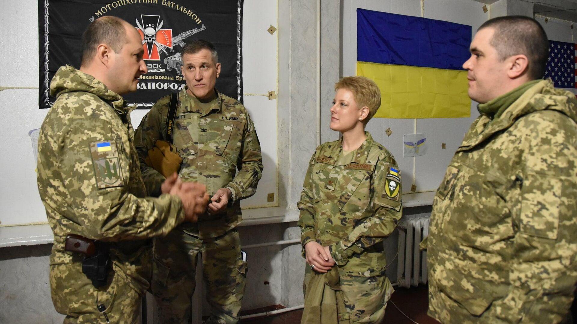 В ЛНР заявили о прибытии американских инструкторов в Донбасс