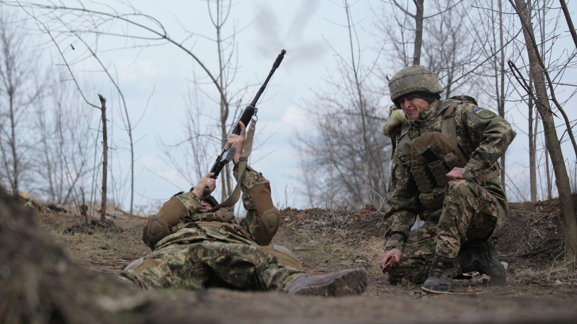 В МИД связали обострение в Донбассе со стремлением Киева вступить в НАТО