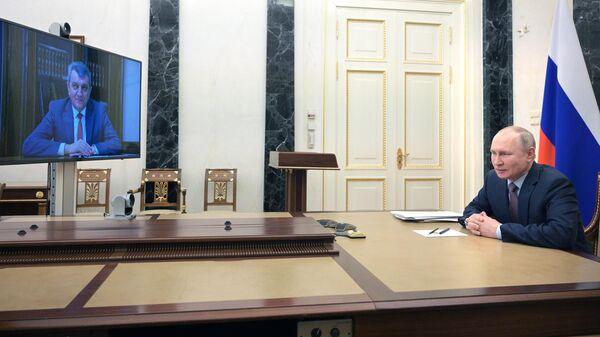 Президент РФ В. Путин предложил пост врио главы Северной Осетии - Алании С. Меняйло
