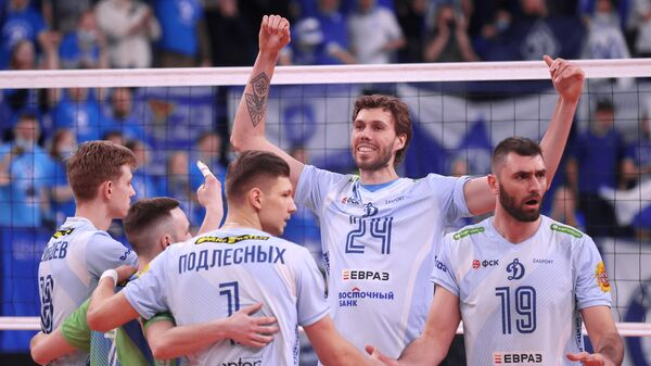 Волейболисты московского Динамо
