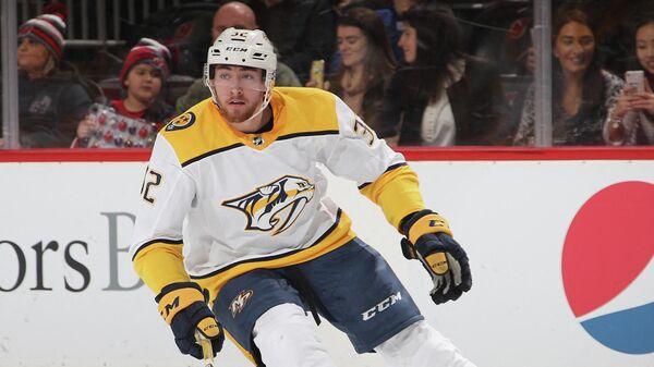 Нападающий клуба НХЛ Нэшвилл Предаторз Яков Тренин